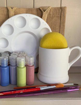 Mug paint at home kit